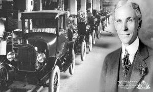 هنری فورد کارآفرین، مخترع، نویسنده و نظریهپرداز آمریکایی بود، که شرکت خودروسازی فورد را در سال ۱۹۰۳ تاسیس نمود.