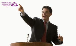 بيشتر از کلام گفتاري در مديريت و رهبري زبان بدن تاثير بيشتري را بر روي افراد ميگذارد