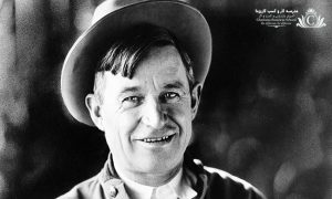 ویل راجرز بازیگر تئاتر و سینما، کابوی، طنز پرداز و مقالهنویس روزنامه اهل اوکالاهما بود.