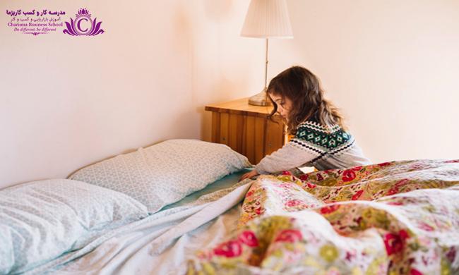 با مرتب کردن تخت خود در صبح اولین تکلیف را با موفقیت انجام دهید تا انگیزه کافی برای تکالیف بعدی صبح داشته باشید